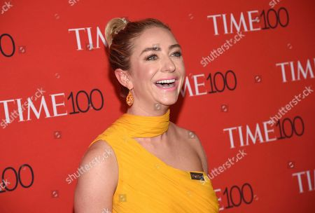 Whitney Wolfe Herd attends the Time 100 Gala celebrating the 100 most influential people in the world at Frederick P. Rose Hall, Jazz at Lincoln Center, in New York