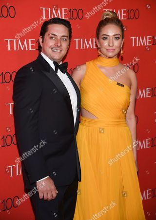 Michael Herd, Whitney Wolfe Herd. Bumble CEO Whitney Wolfe Herd and husband Michael Herd attend the Time 100 Gala celebrating the 100 most influential people in the world at Frederick P. Rose Hall, Jazz at Lincoln Center, in New York