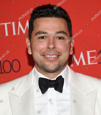 Journalist Ayman Mohyeldin attends the Time 100 Gala celebrating the 100 most influential people in the world at Frederick P. Rose Hall, Jazz at Lincoln Center, in New York