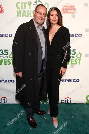 Stock Picture of Jean Reno, Zofia Borucka