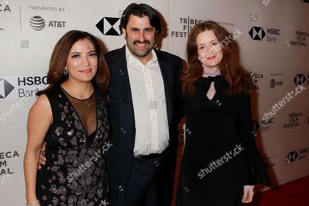Frida Torresblanco, Eric Laufer and Giovanna Randell