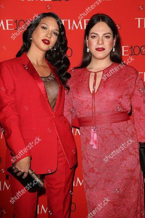 Nomi Ruiz and Daniela Vega