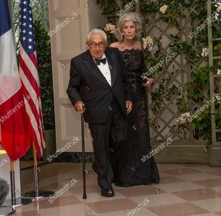 Editorial picture of State Dinner for French President Emmanuel Macron, Washington DC, USA - 24 Apr 2018