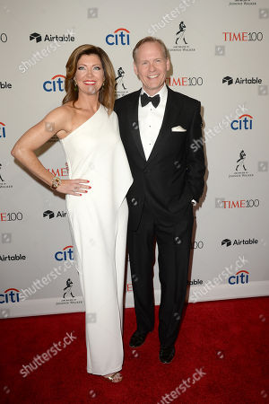 Norah O'Donnell, Geoff Tracy