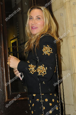 Editorial picture of Meg Matthews out and about, London, UK - 24 Apr 2018