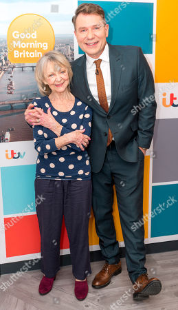 Richard Arnold and Sheila Reid