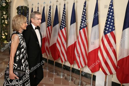 Editorial image of French President Emmanuel Macron visit to USA - 24 Apr 2018