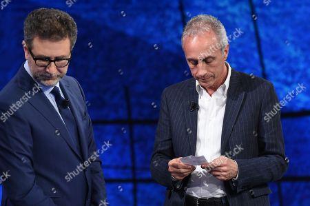 Editorial photo of 'Che Tempo Che Fa' TV show, Milan, Italy - 22 Apr 2018