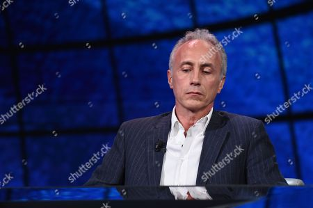 Stock Photo of Marco Travaglio