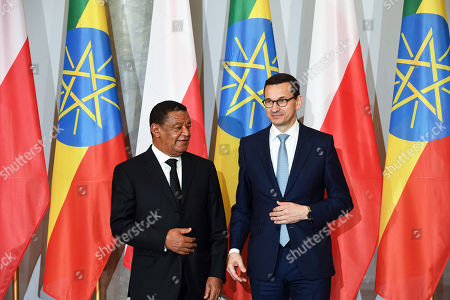 Mulatu Teshome Wirtu and Mateusz Morawiecki