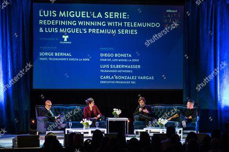 Luis Silberwasser, Carla Gonzalez Vargas, Diego Boneta and Jorge Bernal