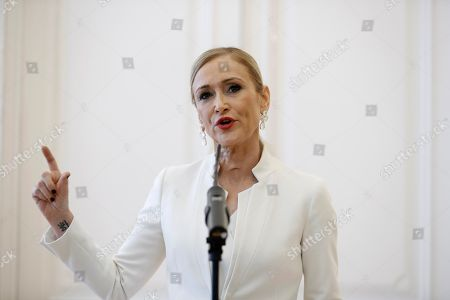 Stock Picture of Cristina Cifuentes
