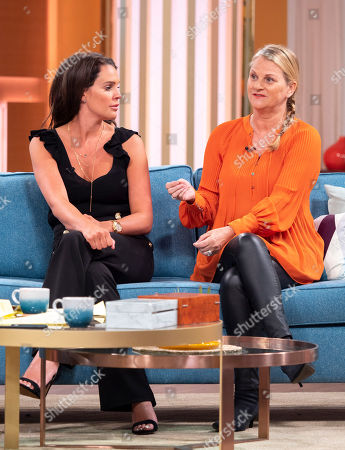 Stock Image of Danielle Lloyd and Jackie Lloyd