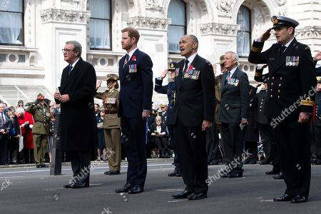 Prince Harry, Alexander Downer and Jerry Mateparaeat