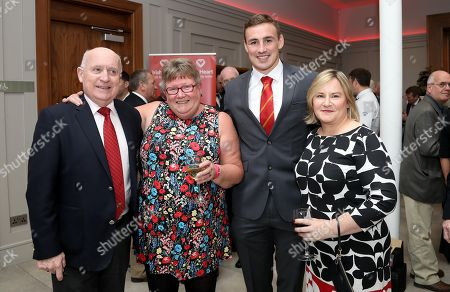 Charlie Buckley, Barbara Richardson, Tommy O'Donnell and Mary Hennessy