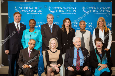Editorial picture of United Nations Foundation's bi-annual board meeting, Amman, Jordan - 25 Apr 2018