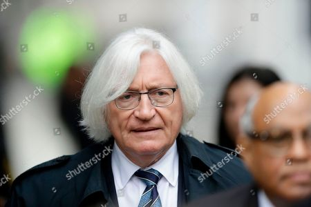 Stock Photo of Attorney Tom Mesereau arrives for Bill Cosby's sexual assault trial, at the Montgomery County Courthouse in Norristown, Pa