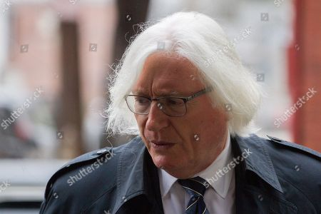 Thomas Mesereau, defense attorney for actor Bill Cosby, arrives for his client's retrial on sexual assault charges, where the jury is expected to begin deliberations after being charged by Judge Steven T O'Neill.