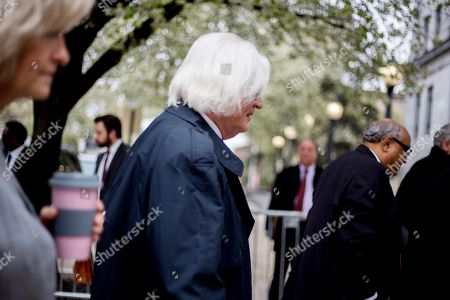 Stock Photo of Thomas Mesereau, defense attorney for actor Bill Cosby, arrives for his client's retrial on sexual assault charges, where the jury is expected to begin deliberations after being charged by Judge Steven T O'Neill.