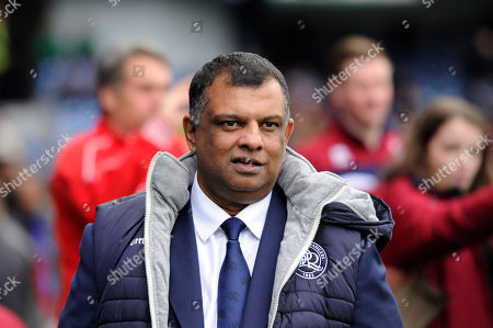 Queens Park Rangers owner Tony Fernandes prior the Sky Bet Championship match between Queens Park Rangers and Birmingham City at Loftus Road Stadium in London. 28 Apr 2018