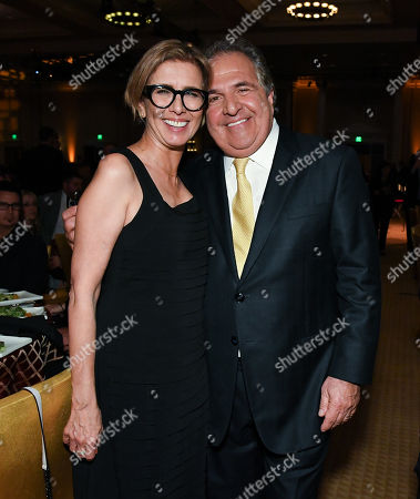 Mireille Soria and Jim Gianopulos