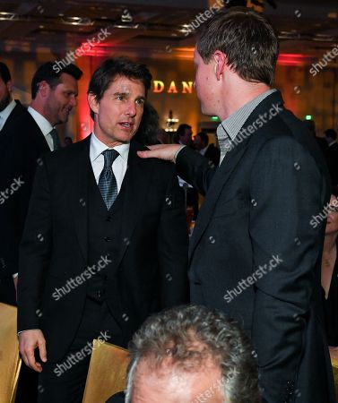 Tom Cruise and David Ellison