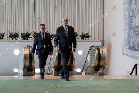 Bashar Jaafari, Permanent Representative of the Syrian Arab Republic to the United Nations