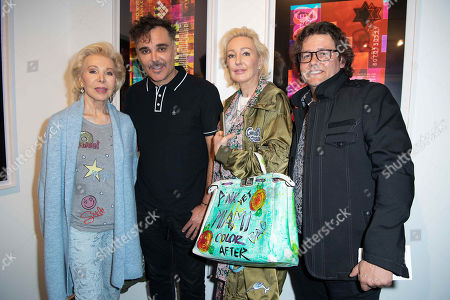 Stock Photo of Ute Henriette Ohoven, David LaChapelle, Claudia Jerger and Dirk Geuer