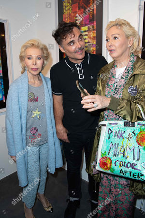 Stock Image of Ute Henriette Ohoven, David LaChapelle and Claudia Jerger