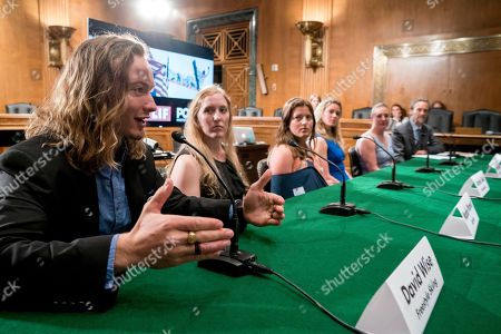 Editorial picture of Congress Climate Change Olympians, Washington, USA - 25 Apr 2018