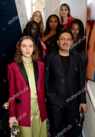 Editorial image of House of Osman VIP launch, London, UK - 25 Apr 2018
