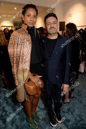 Sherett Dahlstrom and Osman Yousefzada