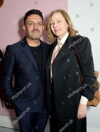 Stock Image of Osman Yousefzada and Sarah Mower