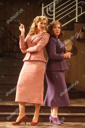 Pic shows:Tracy-Ann Oberman as Monica Reed (R) and Katherine Kingsley as Liz Essendine