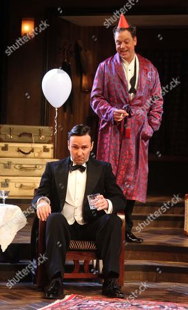 Rufus Hound as Garry Essendine and Richard Mylan as Morris Dixon
