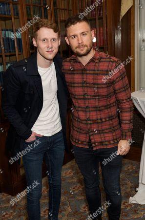 Jamie Borthwick and Danny-Boy Hatchard