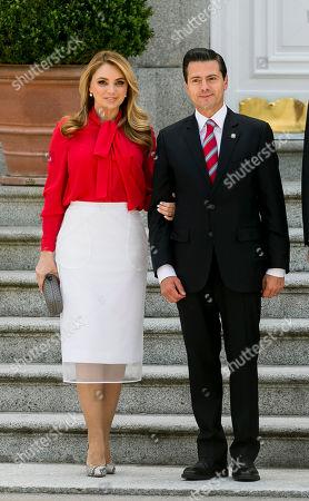 President Enrique Pena Nieto and his wife Angelica Rivera