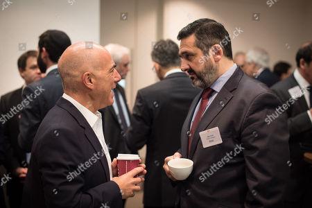 Alex Cruz, CEO of British Airways, Leon Blitz the Chairman of UK Israel Business.