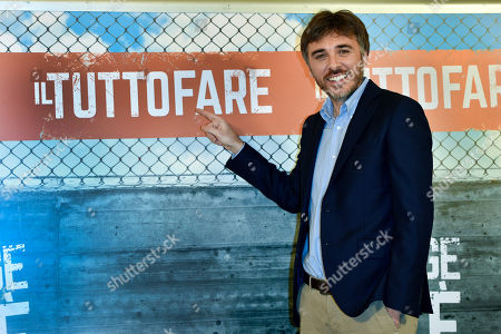 Editorial photo of 'Il Tuttofare' film photocall, Rome, Italy - 13 Apr 2018