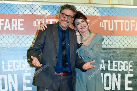Elena Sofia Ricci, Sergio Castellitto
