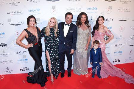 Stock Photo of Maria Bravo, Emma Bunton, Bernard Montiel, Vanessa Williams, Caterina Lopez