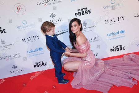 Editorial image of Global Gift Gala, Arrivals, Paris, France - 25 Apr 2018