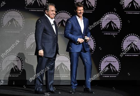 Jim Gianopulos and Tom Cruise
