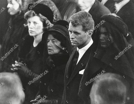 "Rose Kennedy, Robert F. Kennedy, Jacqueline Kennedy. Members of the Kennedy family attend U.S. President John F. Kennedy's burial at Arlington National Cemetery in Arlington, Va., including JFK's mother, Rose Kennedy, center left with veil; his brother U.S. Attorney General Robert F. Kennedy, center right; and the president's widowed wife, Jacqueline Kennedy, far right. Robert F. Nearly 50 years after Robert F. Kennedy's assassination, a new documentary series on his life and transformation into a liberal hero is coming to Netflix. ""Bobby Kennedy for President"" produced by RadicalMedia, Trilogy Films and LooksFilm launches, on Netflix"