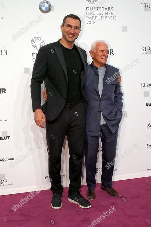 Wladimir Klitschko und Werner Baldessarini