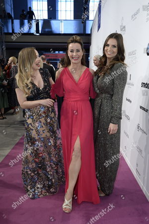 Regina Halmich, Bettina Cramer und Laura Wontorra