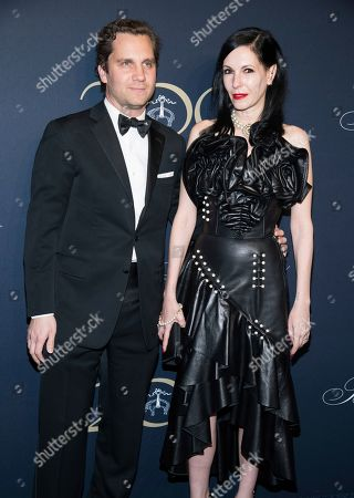 Jill Kargman, Harry Kargman. Harry Kargman and Jill Kargman attend the Brooks Brothers bicentennial celebration at Jazz at Lincoln Center, in New York