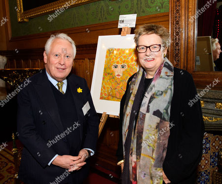 Bob Neill MP and Sally Taylor (CEO to Koestler Trust)