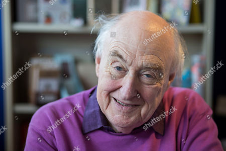Editorial photo of Henry Blofeld book signing, Hungerford, UK - 26 Apr 2018