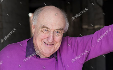 Editorial image of Henry Blofeld book signing, Hungerford, UK - 26 Apr 2018